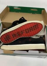 New PUMA Men's Clyde #Reform Meek Mill Sneaker Black White Size 9.5