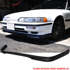 For 90 91 Acura Integra T-R Style Front Bumper Lip Spoiler Poly Urethane PU
