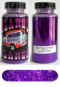 Blakes Metal Flake .008 Big Pimpin Purple Hot Rod Custom Paint automotive 2oz