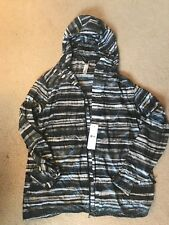 Lululemon Lab Axiom Jacket Camo Black White Grey Print XL $228