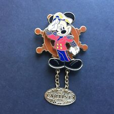 DCL March 03 Artist Choice Dangle Captain Mickey Spinner LE 750 Disney Pin 20879