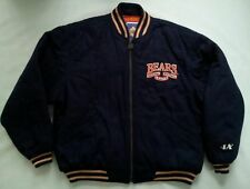 VINTAGE RARE LOGO ATHLETIC CLASSIC COLLECTION CHICAGO BEARS WOOL JACKET SIZE XL