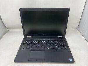 Dell Latitude E5570 Intel i5-6300U, 2.40GHz 8GB RAM NO HDD NO OS NO BATT CRACKED