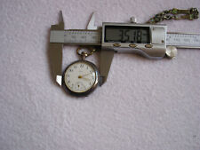 Antique OMEGA Women's Pocket Watch Silver Case Grand Prix Paris 1900