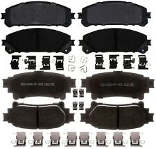 Disc Brake Pad Set-Ceramic Rear ACDelco Pro Brakes 17D1391CH