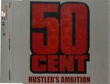 50 Cent: Hustler's Ambition PROMO w/ Artwork MUSIC AUDIO CD Clean Explicit 3trk