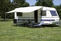 Eurotrail Universal Caravan Motorhome Sun Canopy Awning Grey 200x240 cm