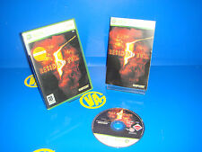 Game For Console Xbox X Box 360 - RESIDENT EVIL 5-buen condition