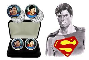 SUPERMAN - Christopher Reeve The Movies Half Dollars Coin Set
