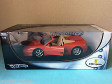 Hot Wheels Ferrari F355 Spider  Metal Collection 1:18 ovp