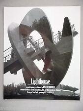 Owen Morrel Art Gallery Exhibit PRINT AD - 1995 ~~ Lighthouse