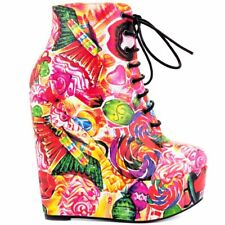 Sweets for My Sweet Tooth Iron Fist Wedge Bootie Size 5
