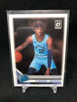 JA MORANT 2019-20 PANINI OPTIC RATED ROOKIE RC #168 GRIZZLIES D68