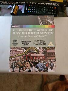 The Wonderful Worlds of Ray Harryhausen Volume One 1955-1960 Blu-ray Indicator