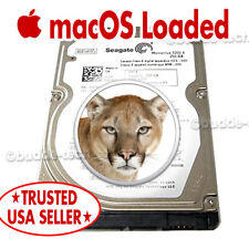 """Hard Drive for Macbook Pro 2007 2008 2009 13 15 17"""" 250GB HDD 2.5"""" Mountain Lion"""