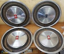 """1977 - 1979 Oldsmobile Ninety Eight 15 """" Wheel Covers Hubcaps 4051 Set of 4 NOS"""