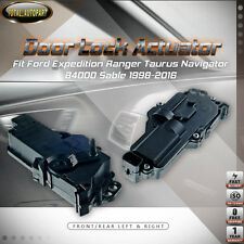 2x Door Lock Actuators for Ford Expedition Ranger Taurus B4000 Sable Left+Right