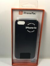 XtremeMac Microshield IPP-MLCF-13 Case for Apple iPhone 5C / Black Carbon Fiber