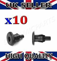Vauxhall Astra Front Wheel Arch Liner Clips Inner Wing Trim Rivets (X10)