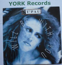 """T'PAU - I Will Be With You - Excellent Condition 7"""" Single Siren SRN 87"""