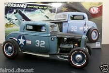 1/18 ACME 1932 Ford Coupe F432 USN Blue A1805001 The Corsairs  In Stock