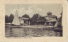 Germany AK Steinhude Festung Wilhelmstein im Steinhuder Meer 1914 cover postcard