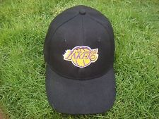 LA Lakers - 16 Times NBA Champs - Adjustable Hat Cap - Black