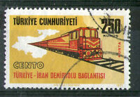 TURKEY 1971 TURKEY RAILWAY COMMEMORATIVE STAMP SG 2389 FU