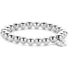 2644SI New Genuine Ti Sento Sterling Silver Beaded Ball Elastic Bracelet  £89