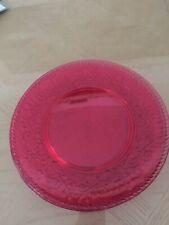 "Ashland Summer New Outdoor Living 4 Plastic 9"" Round Pink Plates"