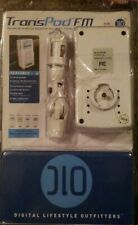 NEW DLO TransPod FM All-in-One Car Solution for iPod White Charger Transmitter