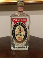 PLYM-GIN COATES & CO Ltd PLYMOUTH DRY GIN STOCK LT.0,75 Gr.46% Vintage 1973/1976