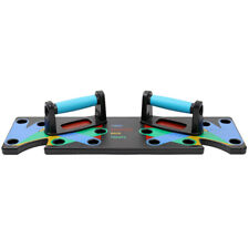 Push Up Rack Board 9 In 1 Body Building Fitness Exercise Tools Men Women T1I1