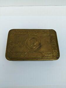 Antique WW1 1914 Princess Mary Christmas tin