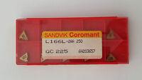 carbide insert L166L-2AA 250 SANDVIK NEW-10pcs.