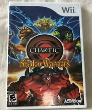 Nintendo Wii Chaotic Shadow Warriors Game Factory Sealed