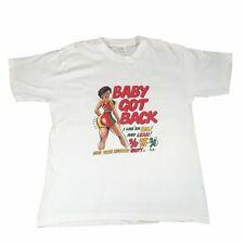"""Vintage Sir Mix-A-Lot """"Baby Got Back"""" T-Shirt Rap Tee Hip-Hop 1990's OMG Becky"""