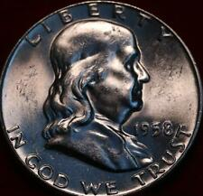 Uncirculated 1958 Philadelphia Mint Silver Franklin Half