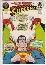 Superman # 247 NM- (9.2) DC. White pages