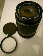 Carl Zeiss Jena 70-120mm Zoom II F/1.45-5.6 MC Macro 52mm Lens   HOYA UV101 MIJ