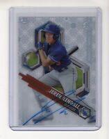 2018 Bowman High TEK Autograph Jeren Kendall Card (Los Angeles Dodgers) Prospect