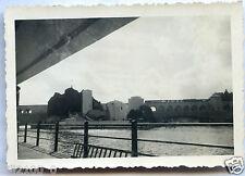 photo ancienne .exposition universelle de 1937 .île aux cygnes.digue de Grenelle