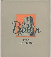 Bottin French Business Consulting Co.150Th Edition Brochure-1947