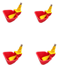 New 4 x  Chicken Water Lubing Cups Automatic Chicken Waterer Drinking Water