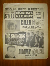 NME #872 1963 SEP 27 CILLA BLACK SWINGING BLUE JEANS