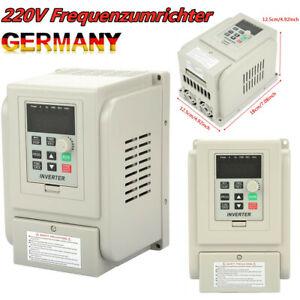 220V Einphasig Frequenzumrichter VFD 2.2kW 3-phase AC Motor Drehzahlregler NEU