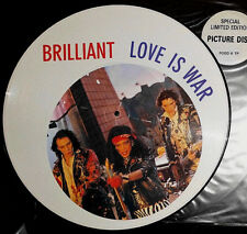 "BRILLIANT LOVE IS WAR 12 "" MAXI PICTURE DISC"