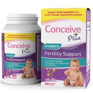 Conceive Plus Women's Fertility Support - 60 Vegetarian Capsules