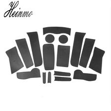 Bulldog Style Coasters For MINI Cooper Countryman F60 Cup Holders Side Door Mats