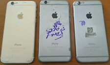 (3 pcs) Apple iPhone 6 Original Rear Housing. Gold/Silver A1549, Silver A1586
